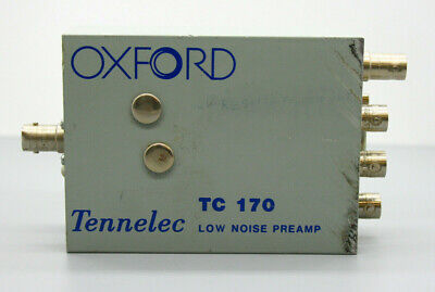 Oxford Tennelec Tc 170 Low Noise Preamp - Fast Shipping In Us