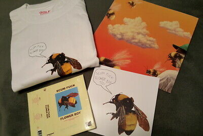 GOLF - TYLER THE CREATOR SFFB CD BUNDLE SET #1 SIZE LARGE NEW!!