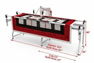 Long Arm Quilting Machine   eBay : quilting long arm machines home use - Adamdwight.com