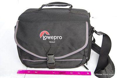 Lowepro Camera Camcorder case bag Medium system Nova 4 Medium Camcorder Case