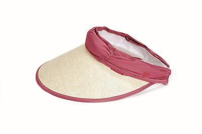 Cabrio Visor/Cap für Damen von EVERTAN (Altrosa/Beige) Beste Qualität