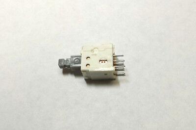 Mini Keyboard Switch Dpdt On-on Push Lock Push Release Pc Board Mount New