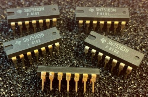 10pcs x SN75183N Texas Instruments  IC                   ((( Tarnished Legs )))