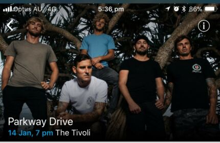 Parkway Drive tickets