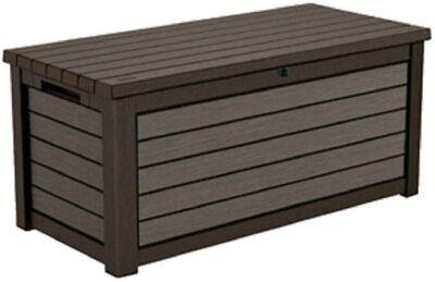 KETER Weatherproof Patio Garden Pool Storage 165 G Resin Outdoor DECK BOX
