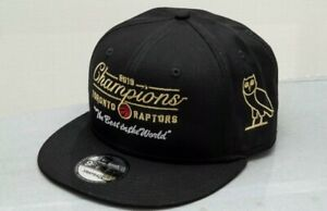 Ovo Raptors Championship Hat limited release