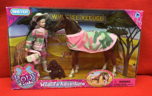 Breyer Pony Gals Wildlife Adventure