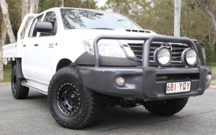 2013 Toyota Hilux Ute 4X4 TURBO DIESEL REGO AND RWC Southport Gold Coast City Preview