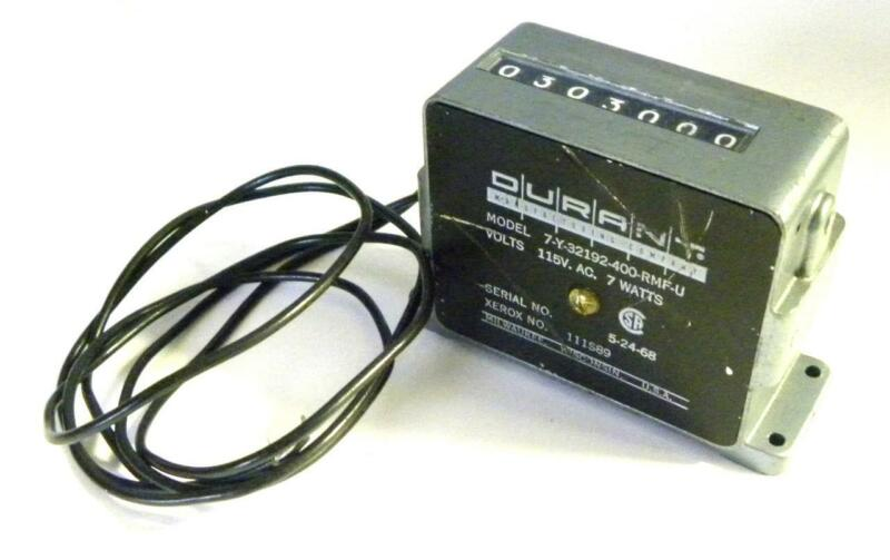 DURANT 7-Y-32192-400-RMF-U AC CYCLE COUNTER