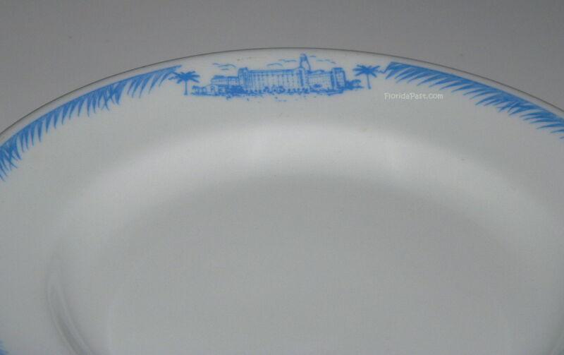 Vintage Vinoy Park Hotel Saint Petersburg Florida St Pete FloridaPast Plate