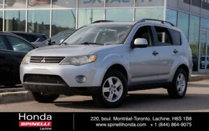 2007 Mitsubishi Outlander LS AWD INSPECTÉE AUTO AC MAGS 4WD CLEA