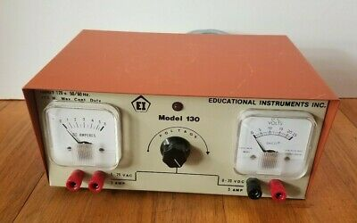 Vintage Educational Instruments Inc. Power Supply Model 130