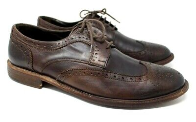 To Boot New York Adam Derrick Sz 11 Wingtip Leather Italian Oxfords Dress Shoes