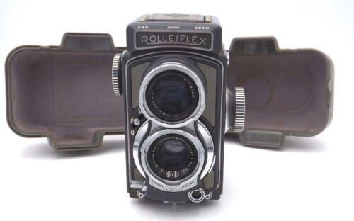 Vintage Baby- Rolleiflex DBP DBGM Camera Case- Olive