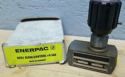 Enerpac Hydraulic Flow Control Sae 4 - 5000 Psi Vfc-1 New