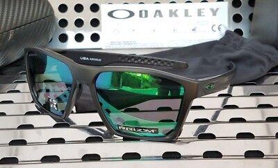 4bf7687f04 New Oakley TARGETLINE Sunglasses 9397-0758 Matte Black w Prizm Jade  Polarized