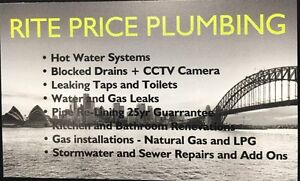 Rite Price Plumbing • Local Chatswood Plumber Chatswood Willoughby Area Preview