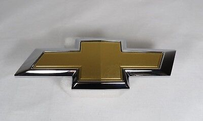 16-17 CHEVY EQUINOX GRILLE EMBLEM OEM GRILL GOLD BOWTIE BADGE sign logo symbol
