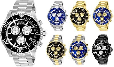 Invicta Grand Diver Men's 47mm Chronograph Swiss ETA G10 - Choice of Color