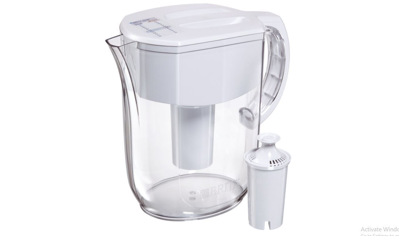 Brita 10 Cup Everyday Water Pitcher  Filtration with 1 Filte