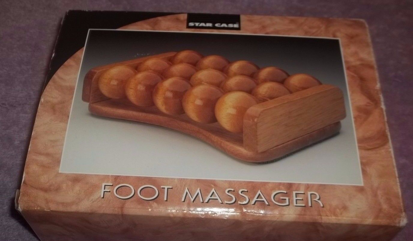 Star Case Foot Massager no. 164 Soothing for Tired Feet Stre