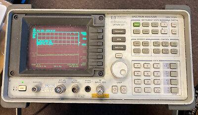 Hp 8590a Option 001 1mhz-1.5ghz Spectrum Analyzer