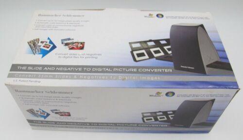 Hammacher Schlemmer Slide & Negative to Digital Picture Converter Scanner 75800
