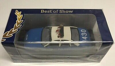 Best Of Show BOS 1992 Chevrolet Caprice NYPD Police Car 1:43 NIB