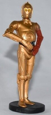 Disney Store Authentic C-3PO DROID FIGURINE Cake TOPPER STAR WARS NEW