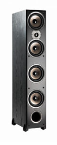Polk Audio - Monitor 70 - Series II Tower Speaker - Black -