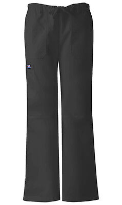 Cherokee Workwear Scrubs Women's Cargo Pants 4020 Black BLKW