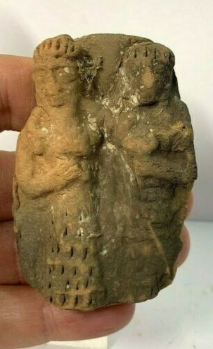 ANCIENT NEAR EASTERN POTTERY IDOL