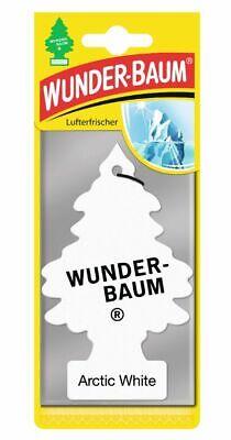 ARCTIC WHITE Wunder Baum Wunderbaum  Duftbaum Lufterfrischer Autoduft Duft
