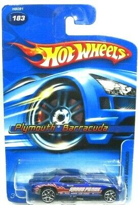 Hot Wheels 2005 Plymouth Barracuda Funny Car Snake Vintage  #183 1:64 New