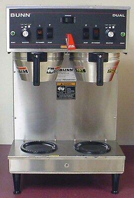 Bunn Dual Automatic Coffee Brewer Maker Machine W Faucet W 3 Batch Settings