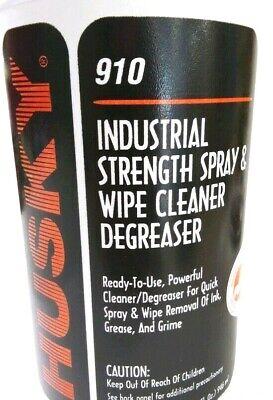 HUSKY INDUSTRIAL STRENGTH SPRAY AND WIPE CLEANER DEGREASER Industrial Strength Degreaser