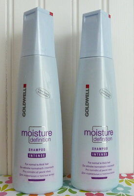 TWO GOLDWELL MOISTURE DEFINITION INTENSE SHAMPOO NORMAL TO THICK HAIR Goldwell Thick Shampoo