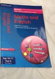 KS2 maths and English revision guide