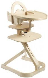 Svan High Chair Set (Natural)
