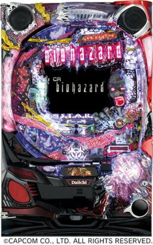 CR Biohazard Resident Evil Pachinko Machine Japanese Slot Pinball Awesome