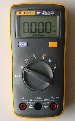 Fluke 106 F106 Palm-sized Digital Multimeter F15b Smaller Version Usa Seller