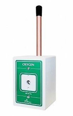 Oxygen Wall Outlet - Ohmeda Quick Conn Fitting Surface Mount