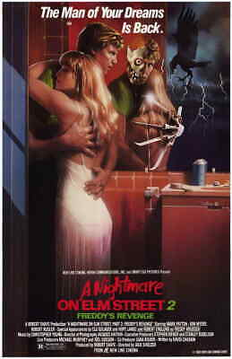 A NIGHTMARE ON ELM STREET 2 11x17 Movie Poster - Licensed | New | USA |  [B]