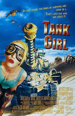 TANK GIRL Movie POSTER 11x17 B Lori Petty Malcolm McDowell Ice-T Naomi Watts