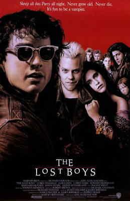 Lost Boys (1987) Style-A 80s Corey Haim Corey Feldman Movie Poster Size 11x17