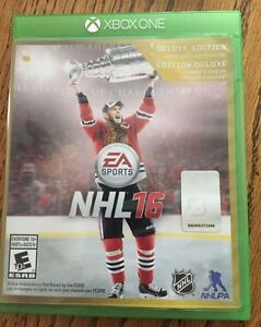 NHL 16 deluxe édition sur Xbox One