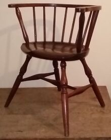 Marble and Shattuck Windsor Chair, Bedford, Ohio