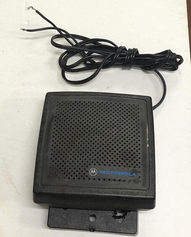 Motorola HSN 4019A Remote External SpeakerShips Immediately See Description