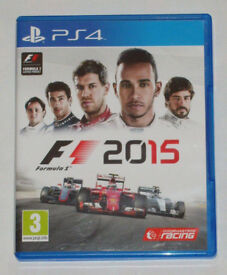 SONY PLAYSTATION PS4 GAME F1 2015 RACE LIKE A CHAMPION PAL 3 CODEMASTERS RACING.