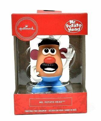 Hallmark Mr. Potato Head - Christmas Tree Ornament / Cake Topper - FREE SHIPPING